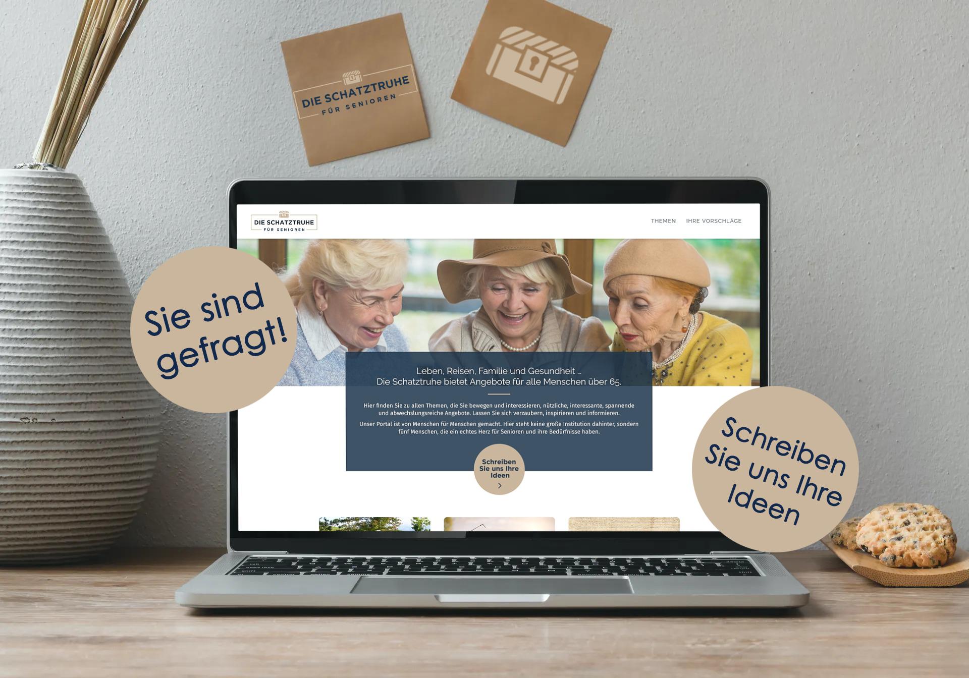 Webseite für Senioren